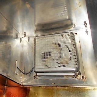 換気扇清掃:スチーマー仕上がり